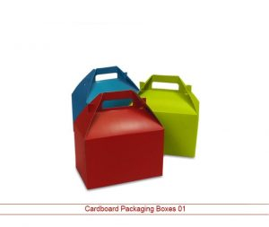 Cardboard packaging Boxes