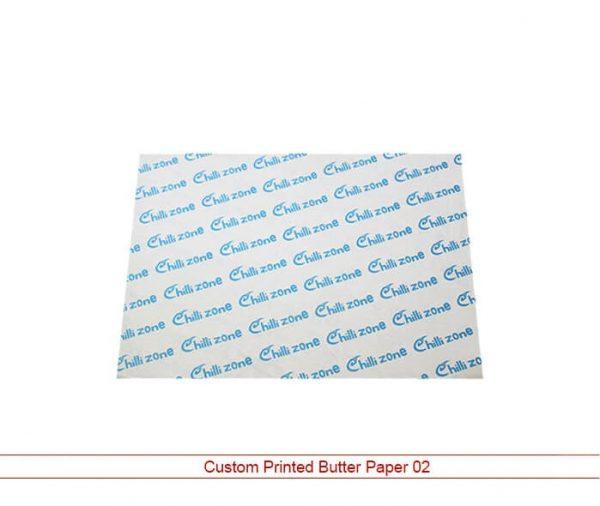 Custom Printed Butter Paper 02