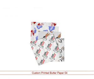 Custom Printed Butter Paper 04