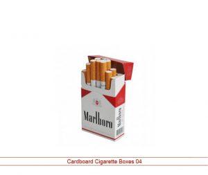 Custom cardboard cigarette boxes
