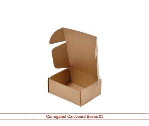 Custom corrugated cardboard boxes
