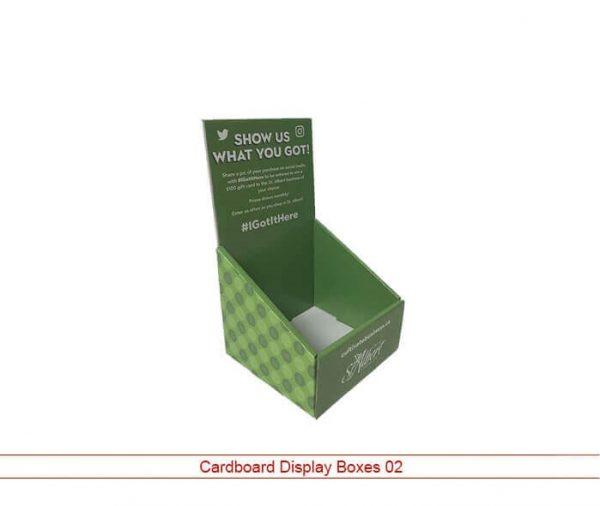 Cystom Cardboard Display Packaging 02