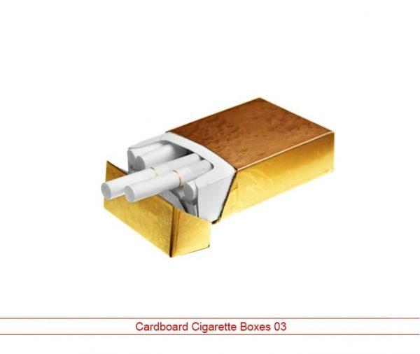 cardboard cigarette boxes NYC