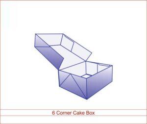 6 Corner Cake Box NYC
