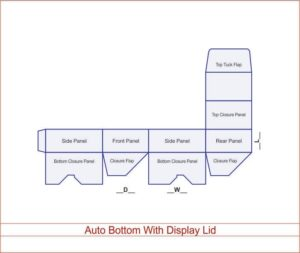 Auto Bottom With Display lid 04 3