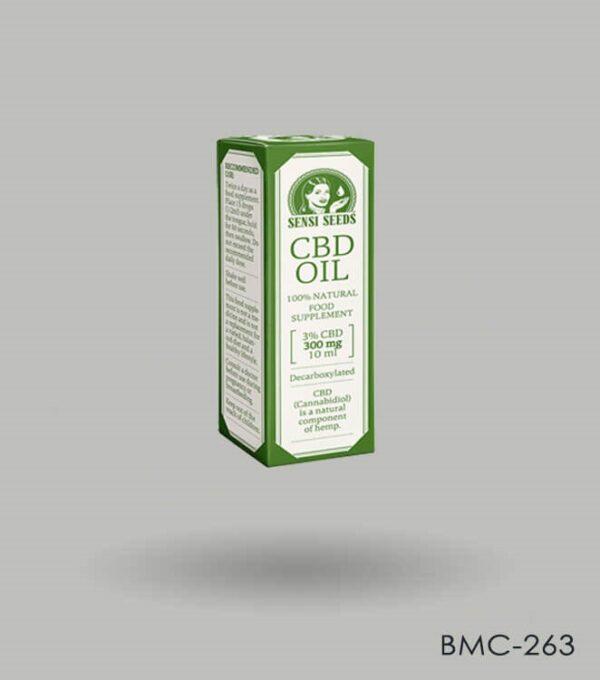 Ccustom Printed CBD Oil Box Packaging