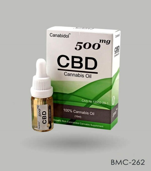 Ccustom Printed CBD Oil Boxes Wholesale