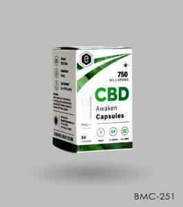 Custom CBD Capsules Boxes Wholesale