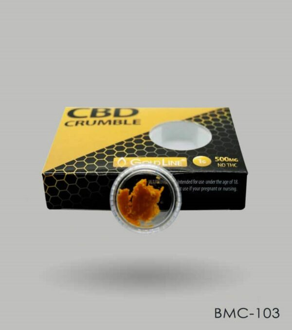 Custom CBD Crumble Boxes