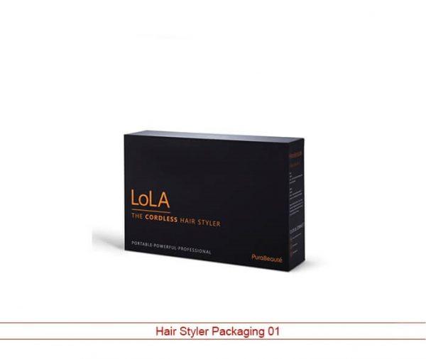 Custom Hair Styler Packaging
