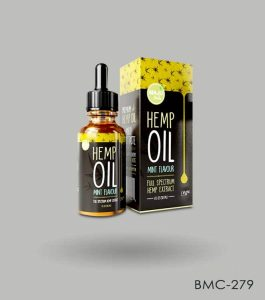 Custom Hemp Oil Box Packaging