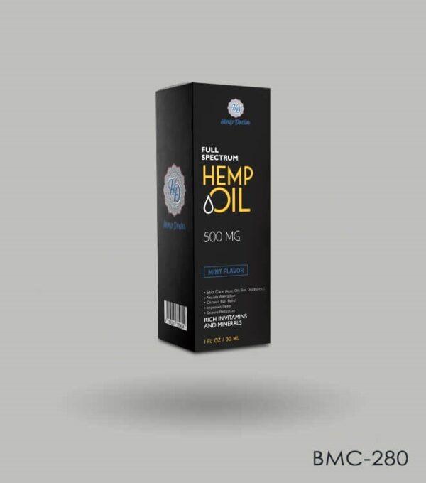 Custom Hemp Oil Packaging