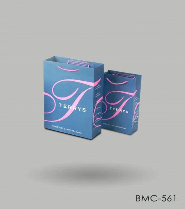 Custom Printed Paper Bags Wholesale