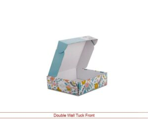 Double Wall Tuck Front Box Wholesale