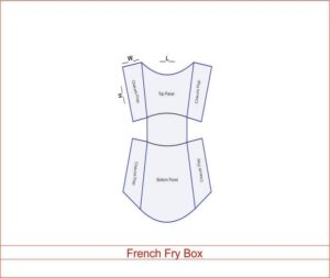 French Fry Box 03