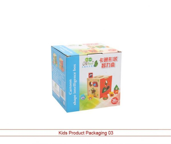 Kids Product Packaging
