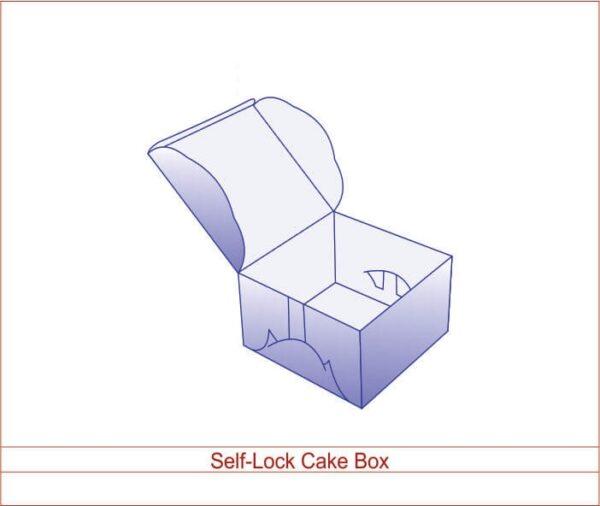 Self-Lock Cake Box 01