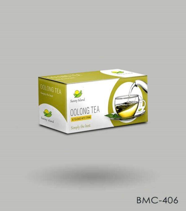 Tea Sachet Box Packaging