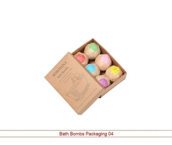 bath bombs packaging
