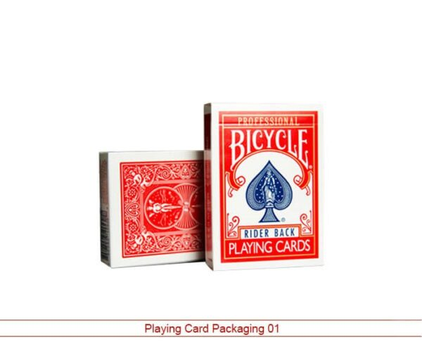 playing card packaging