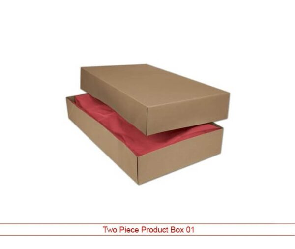 two piece product box