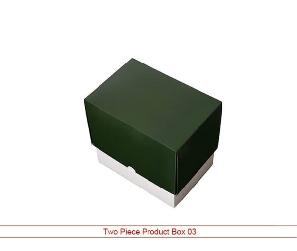 two piece product box Wholesale